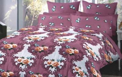 poison Cotton Printed Double Bedsheet
