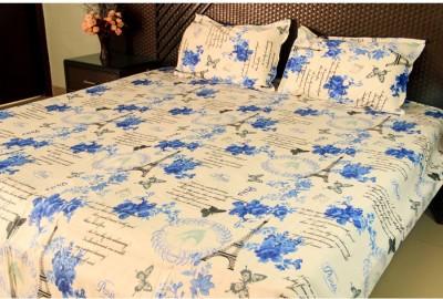 Ramabhakta Polycotton Geometric Double Bedsheet