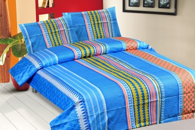 Royal Choice Cotton Striped Double Bedsheet