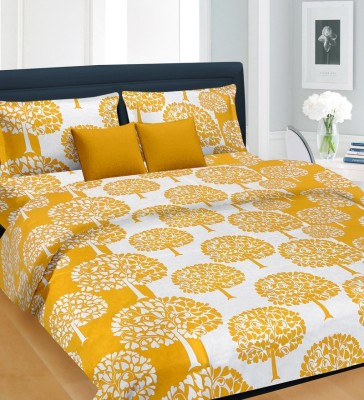 Nirmal Home Furnishing Silk Blend Printed Double Bedsheet