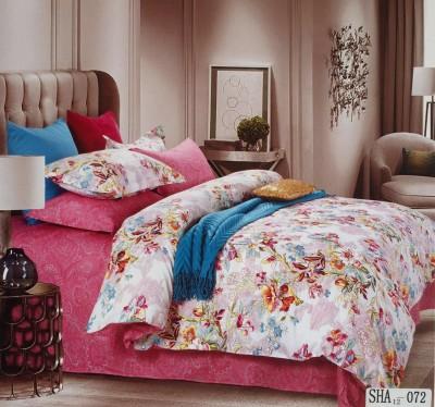 I-Dream Decor Cotton Floral Double Bedsheet