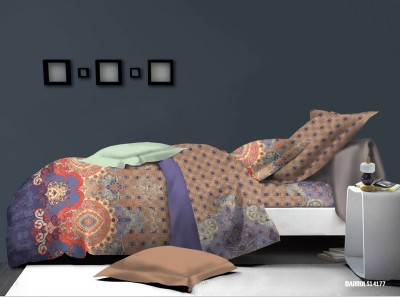 Cosy Polycotton Printed Double Bedsheet