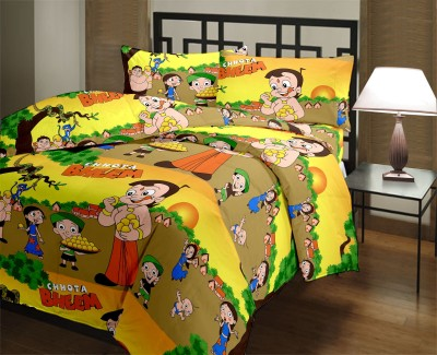 Vasnm Cartoon Single Dohar Multicolor