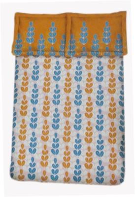 Amk Home Decor Cotton Floral Double Bedsheet