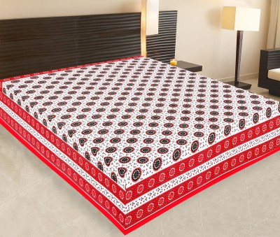Priya Fashions Cotton Printed Double Bedsheet