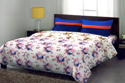 Portico New York Cotton Geometric Double Bedsheet