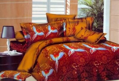 Flamingo Cotton Animal Double Bedsheet
