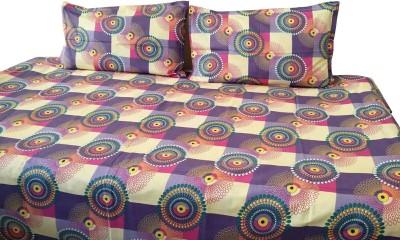 Nivrati Cotton Abstract Single Bedsheet