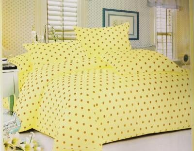 Dreams Cotton Printed Double Bedsheet