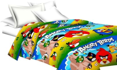 Stylo Junction Cotton Cartoon Single Bedsheet