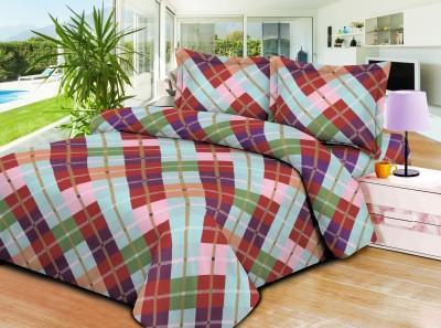 SAMSON Polycotton Printed Double Bedsheet