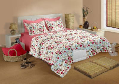 Raymond Home Cotton Floral Double Bedsheet