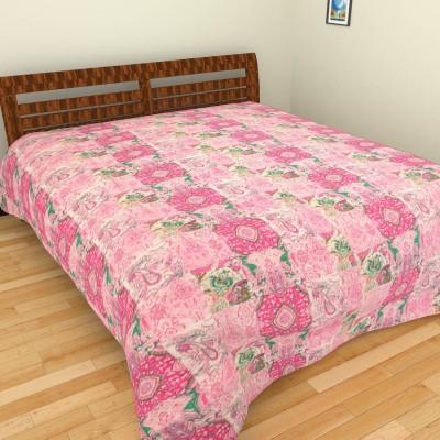 Jaipur Textile Hub Cotton Printed Double Bedsheet