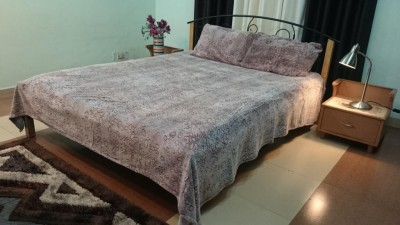 Jojo Designs Polyester Printed Double Bedsheet