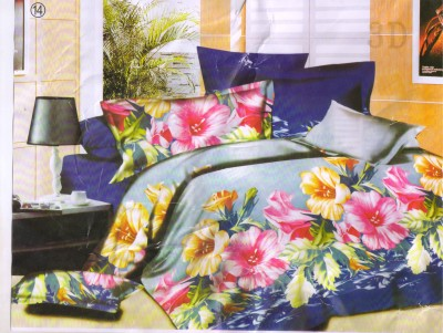 Canadian Icon Cotton Floral Double Bedsheet