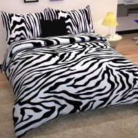 Story@Home Cotton Animal Double Bedsheet(1 Double Bedsheet With 2 Pillow Covers, White)