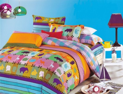 Aspire Inc Cotton Animal Double Bedsheet