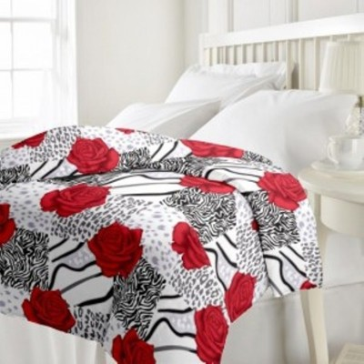Stylo Junction Cotton Floral Double Bedsheet