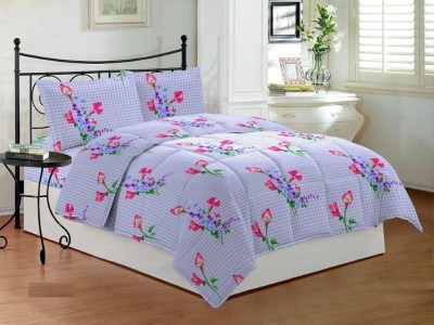 Bombay Dyeing Polycotton Abstract Queen sized Double Bedsheet