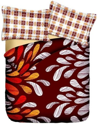 By Briana Cotton Abstract Queen sized Double Bedsheet