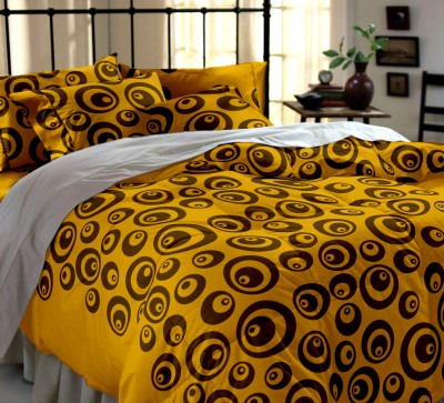 Dreamscape Cotton Printed Double Bedsheet