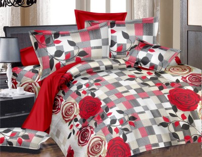 Vaani Cotton Printed Double Bedsheet