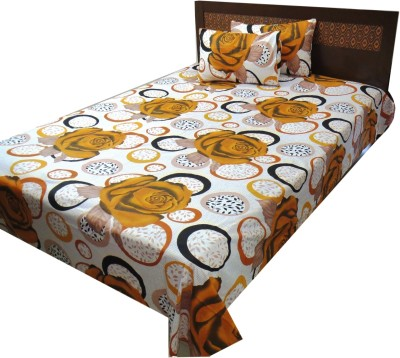 The perfect comfort Cotton Floral Double Bedsheet