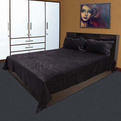 Marmitte Cotton Plain Double Bedsheet