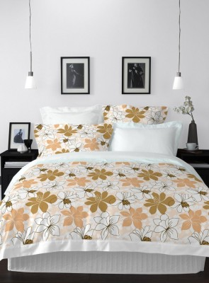 Welhome by Welspun Cotton Floral Double Bedsheet