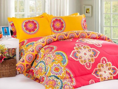 Desirica Cotton Paisley Double Bedsheet
