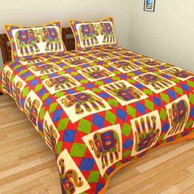 Fashion fab Cotton Animal Queen sized Double Bedsheet