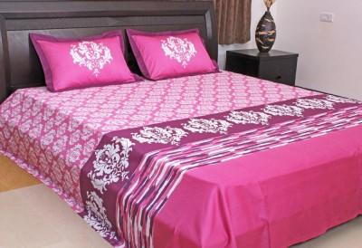 Elan Cotton Printed Queen sized Double Bedsheet