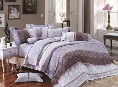 Kiaana Cotton Floral Double Bedsheet