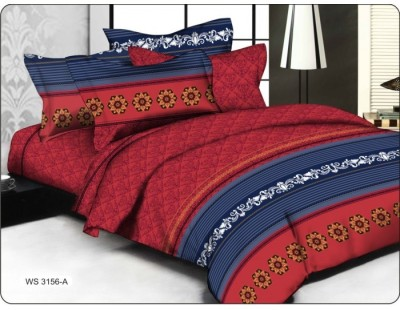 Sovam International Cotton Plain Double Bedsheet