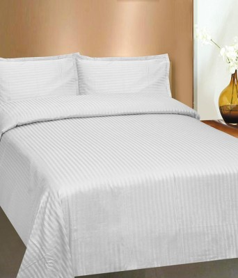 Arma Cotton Striped King sized Double Bedsheet