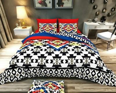 MN Decor Cotton Floral Double Bedsheet
