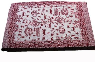 Baba Handicraft Cotton Animal Single Bedsheet
