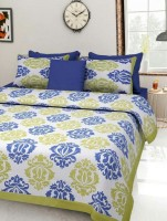 Naiwal Fashion Cotton Double Bed Cover(Multicolor, 1 Double Bed Cover With 2 Pillow Covers) best price on Flipkart @ Rs. 680