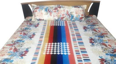 Aashri Cotton Printed Double Bedsheet