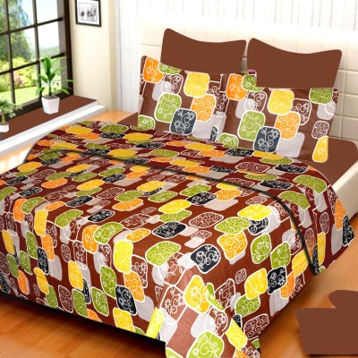 VCS Cotton Printed Double Bedsheet