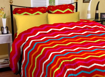 Arto Cotton Abstract King sized Double Bedsheet