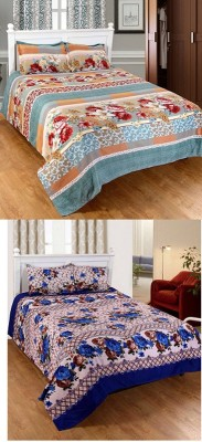VIPL Polycotton Abstract Queen sized Double Bedsheet