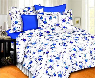 SurprizeMe Cotton Printed Double Bedsheet