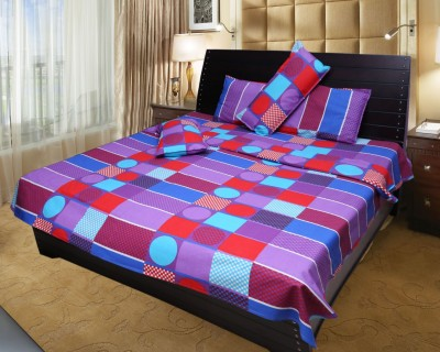 Innovating Cotton Floral Double Bedsheet