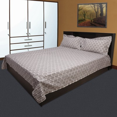 Marmitte Cotton Printed Double Bedsheet