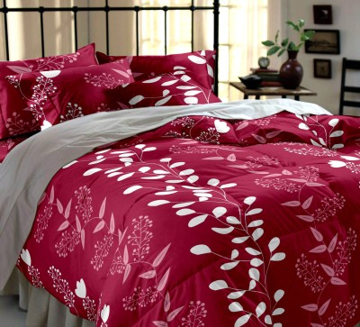 Home Ecstasy Cotton Floral Double Bedsheet