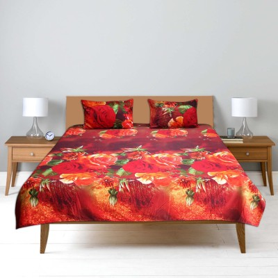 Furnishing Kingdom Polycotton Floral Double Bedsheet
