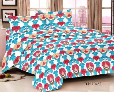 Aarya Home Cotton Printed Double Bedsheet