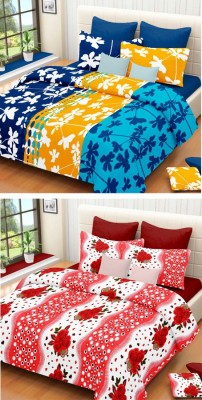 Home Elite Cotton Abstract Double Bedsheet