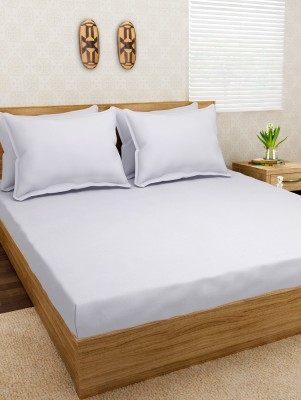 Arow Cotton Plain Double Bedsheet